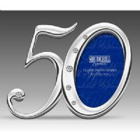 50 50th Birthday or Anniversary Number Mini Photo Frame